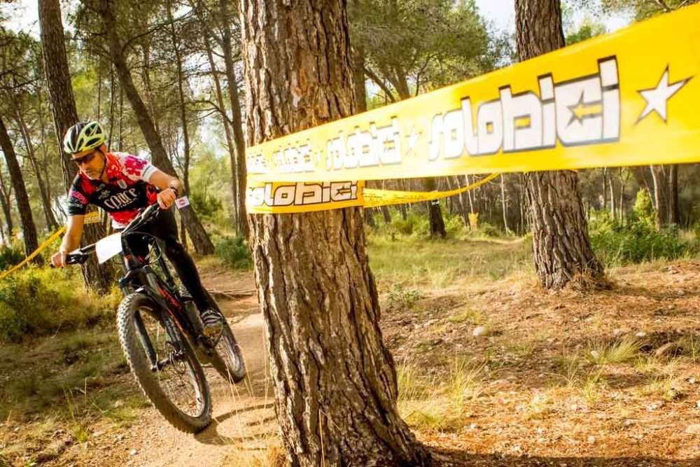Prueba de bici de MTB en el Sant Andreu Festival Solo Bici by Shimano 2017