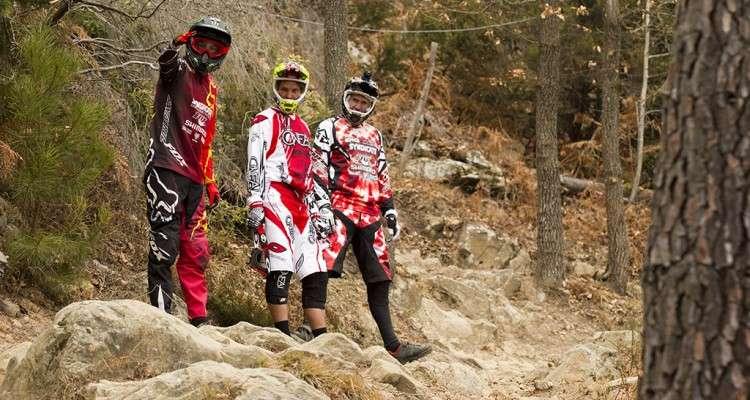 Santa Cruz Bikes testing in San Romolo Italy with Fox Racing Shox. Photo by Gary Perkin