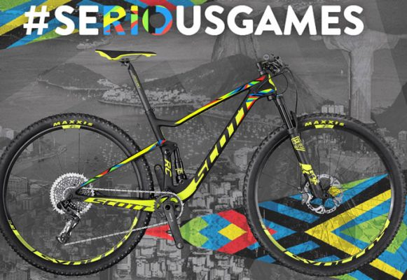 Edición limitada de la SCOTT SPARK RC 900 WORLD CUP Ed. Limitada RIO.