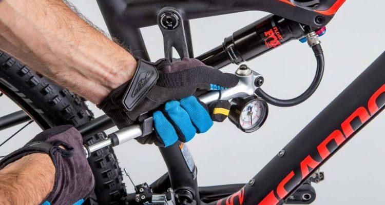 ajustar suspensiones bici