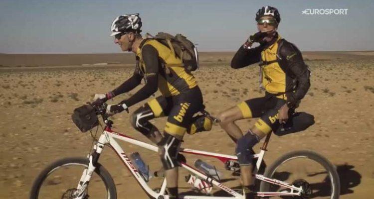 Alex Roca en la Titan Desert