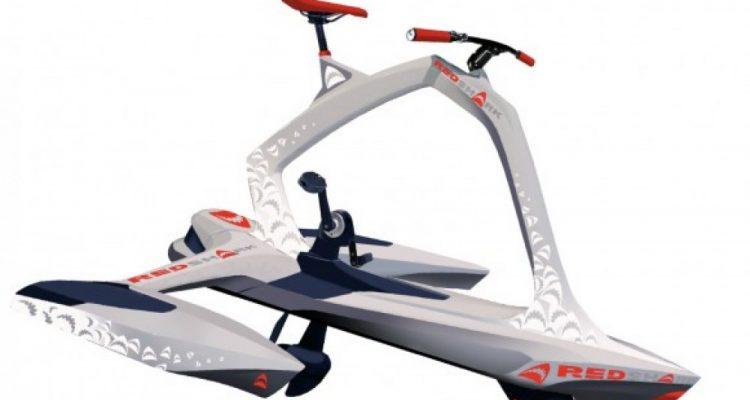 Red Shark Bike