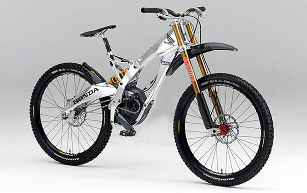 Bicicleta Honda de Greg Minaar