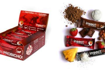 barritas proteicas de insectos