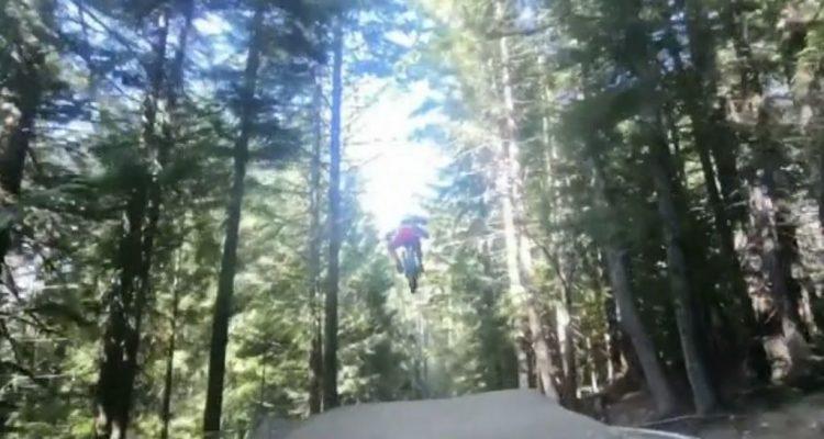 vídeo niño 6 años bike park whistler