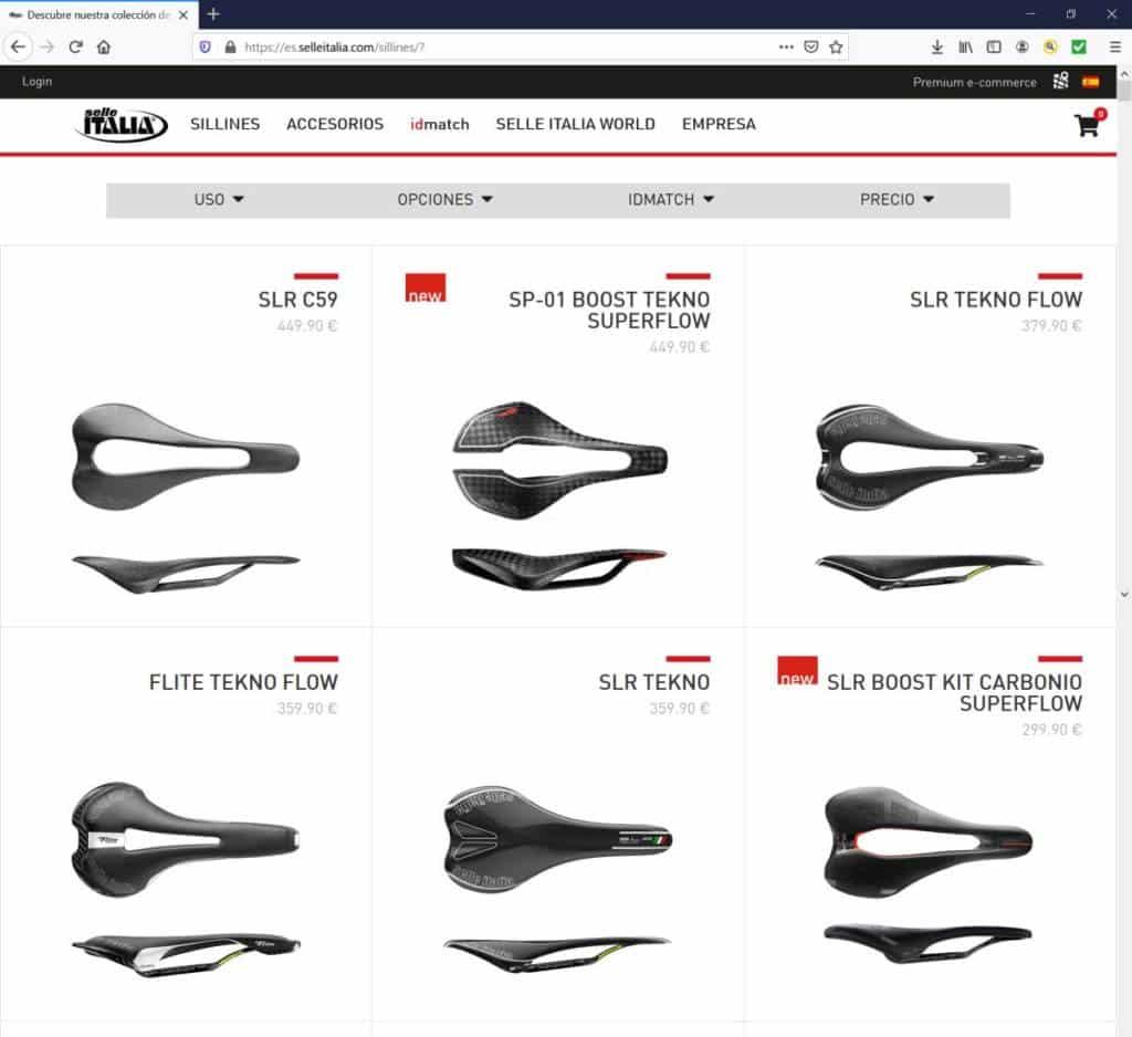 Selle Italia tienda online