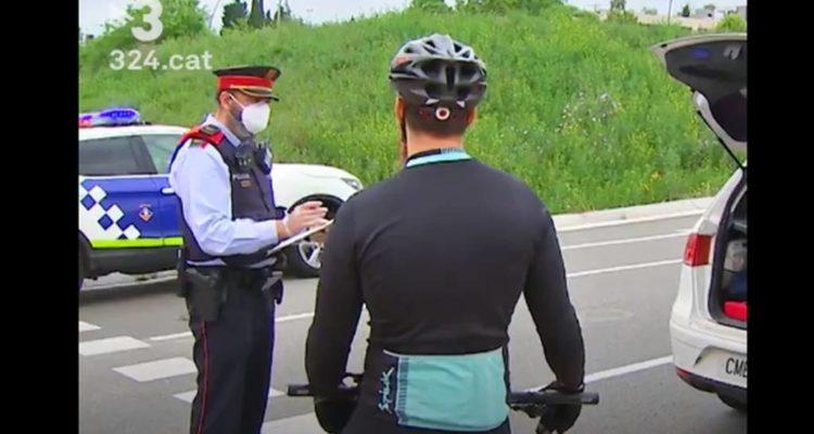 ciclistas multados municipio