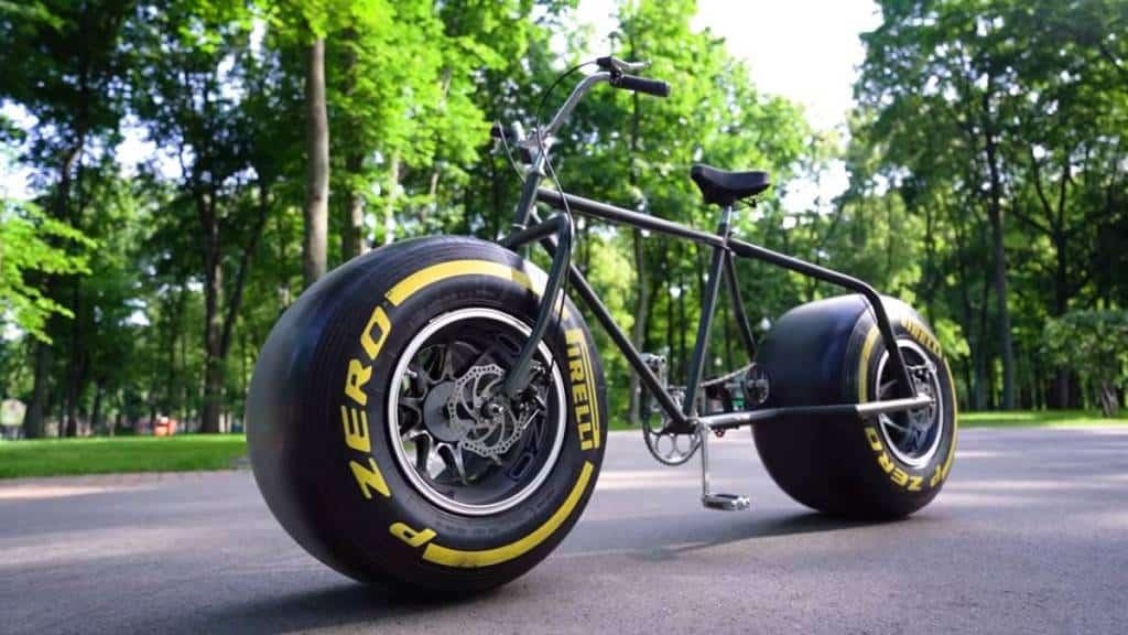 fat bike fórmula 1