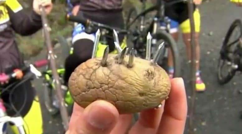 trampas para ciclistas galicia
