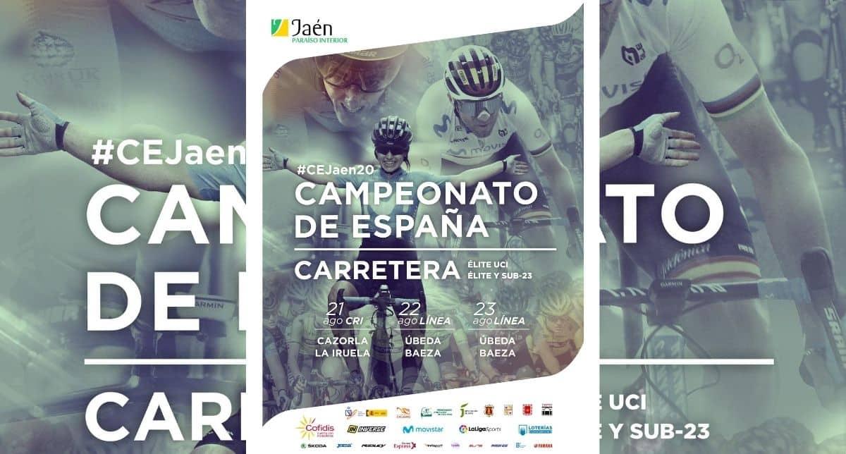 información técnica Campeonatos España Ciclismo Carretera 2020