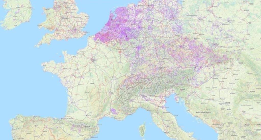 mapa carriles bici mundo