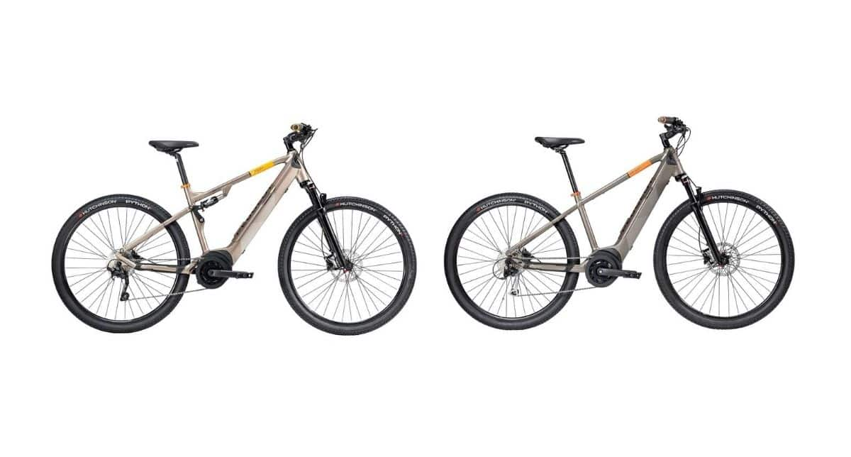 Gama e-Bikes Peugeot Crossover