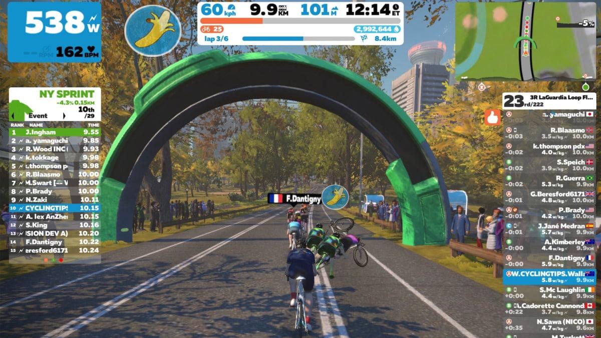 Mundial ciclismo virtual