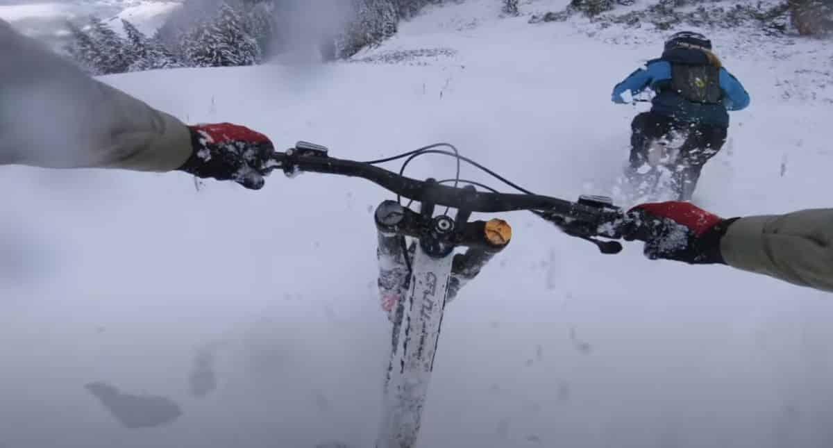 descenso nieve virgen