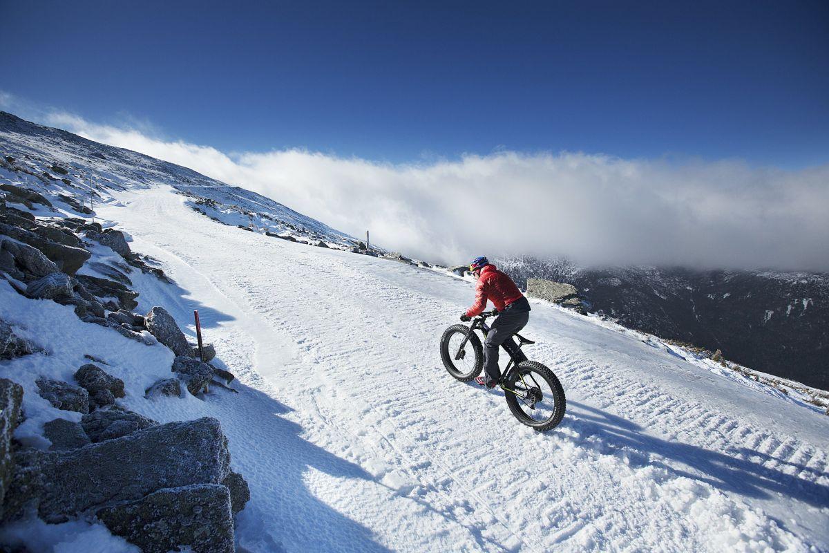 cómo montar sobre nieve
