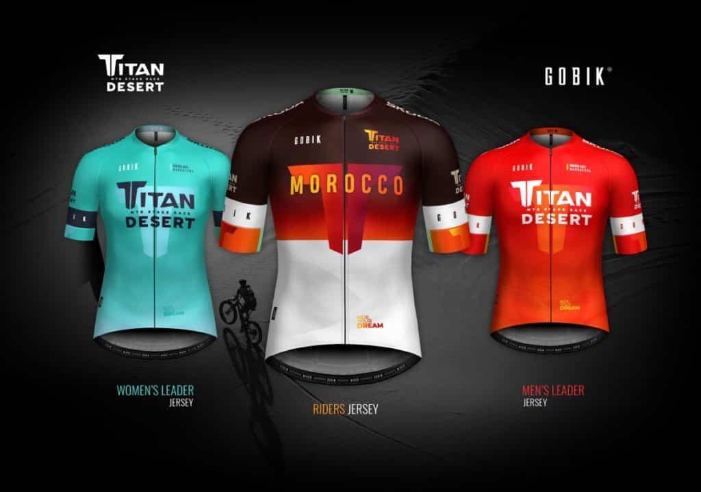 maillots Titan Desert 2021