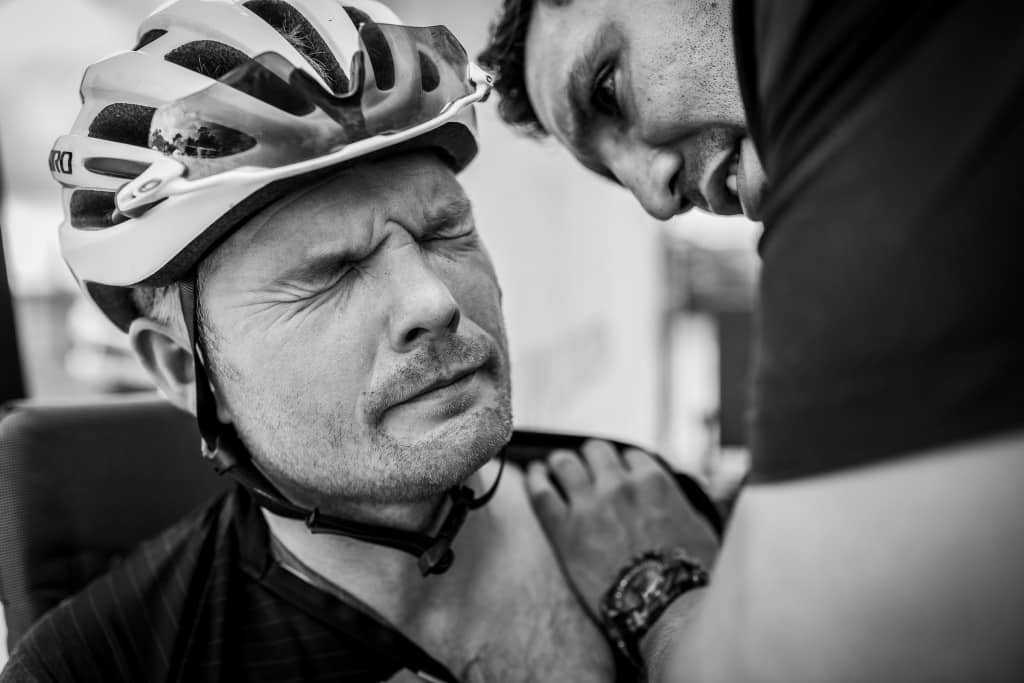 lesiones comunes ciclismo