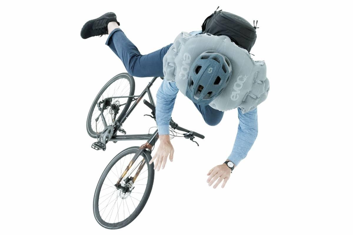 mochila de ciclismo con airbag